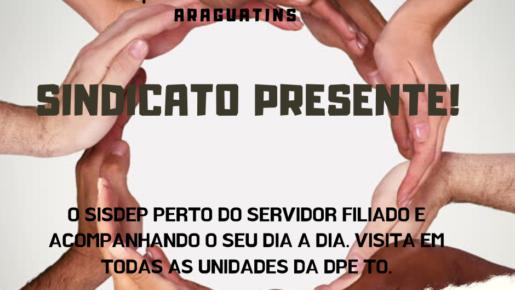 """LANÇAMENTO DO """"SINDICATO PRESENTE!"""""""